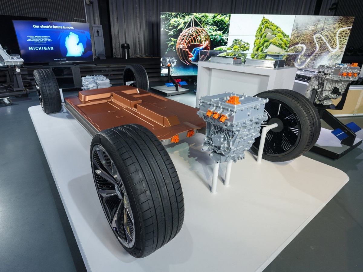 General Motors plataforma baterías