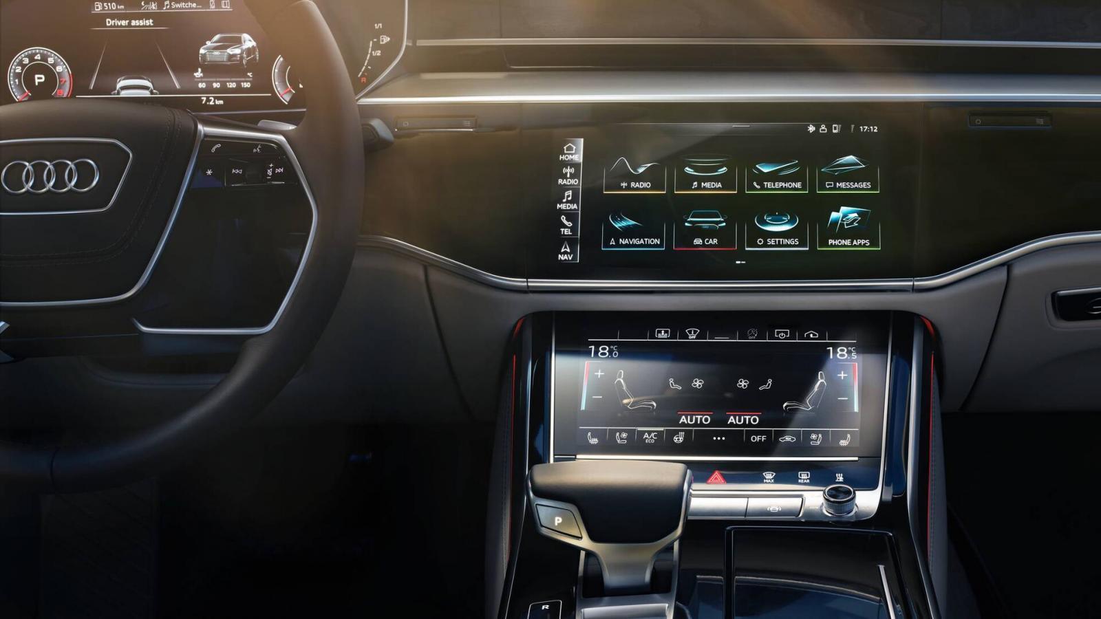 Audi A8 55 TFSI Premium 2020 resena opiniones