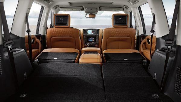 La SUV de Infiniti es ideal para las familias numerosas
