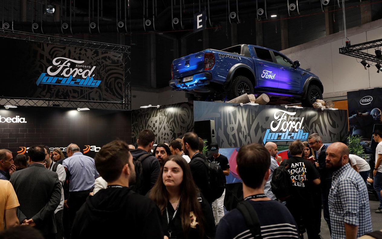 Ford tiene un equipo de eSports llamado Fordzilla
