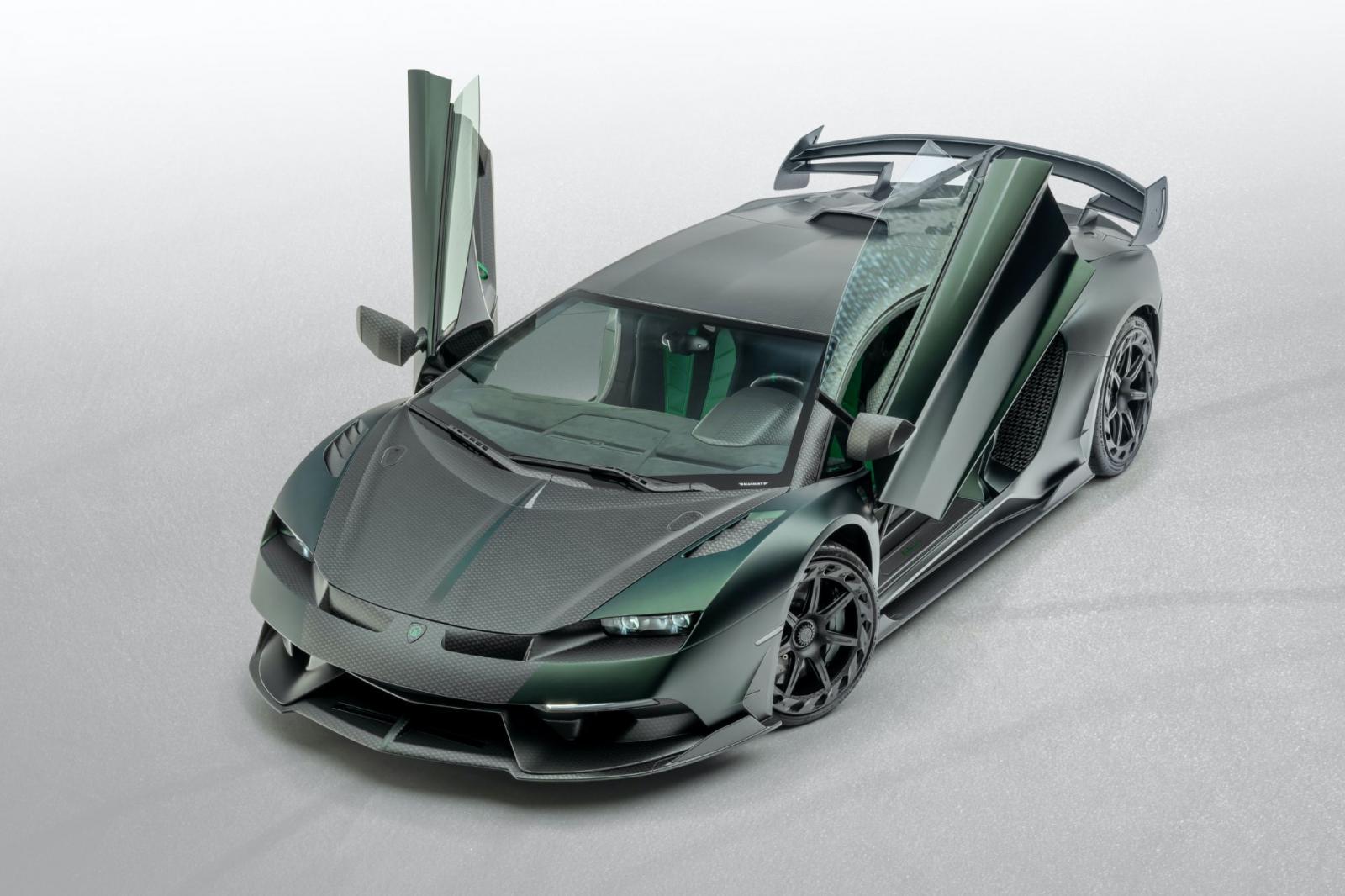 Cabrera El Lamborghini Aventador Svj De Mansory