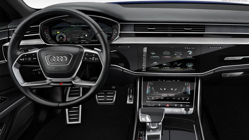 Audi S8 TFSI 2020 resena opiniones Ofrece un manejo de materiales correcto y una gran calidad en el ensamblaje