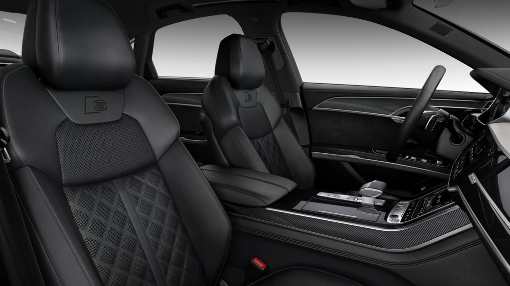 Audi S8 TFSI 2020 resena opiniones Lleva calefacción en los asientos de las 2 filas para maximizar el confort