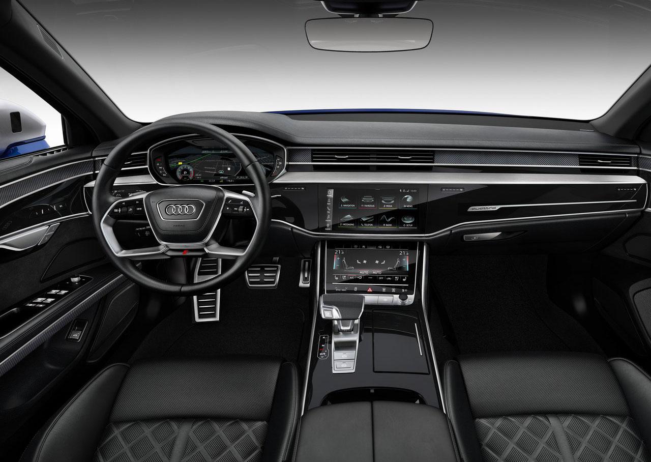 El Audi S8 2020 precio en México tiene buen espacio interior