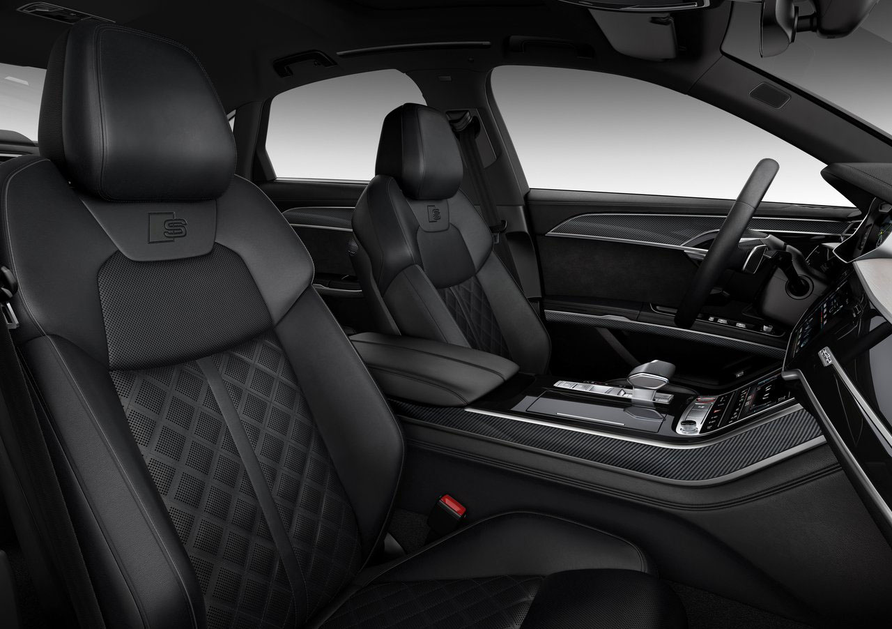 El Audi S8 2020 precio en México tiene materiales de lujo