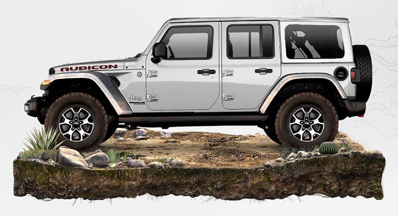 Jeep Wrangler deluxe 2020
