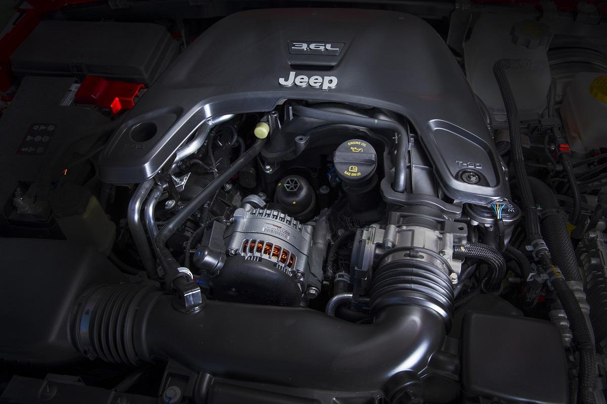 Motor Pentastar V6
