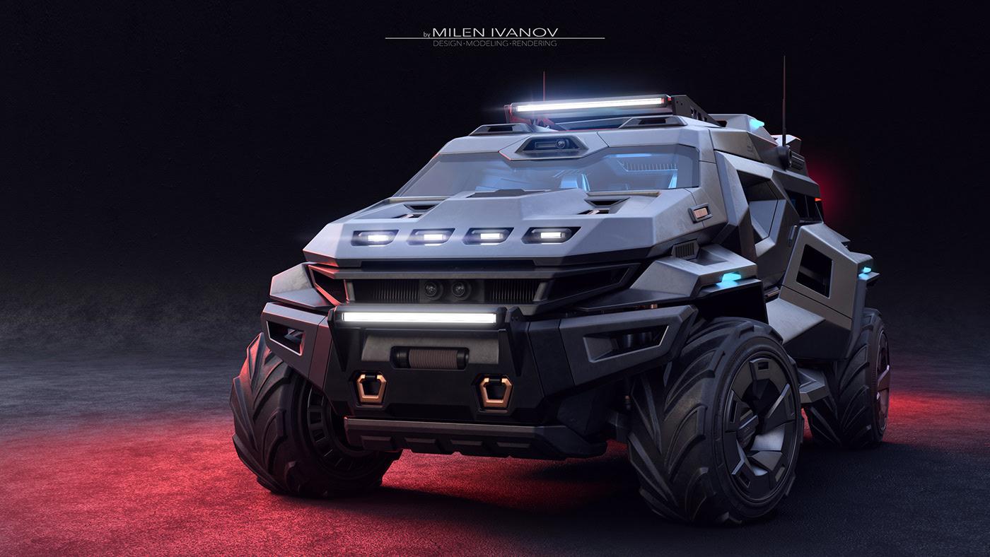 Video: Armortruck, el auto para cualquier emergencia