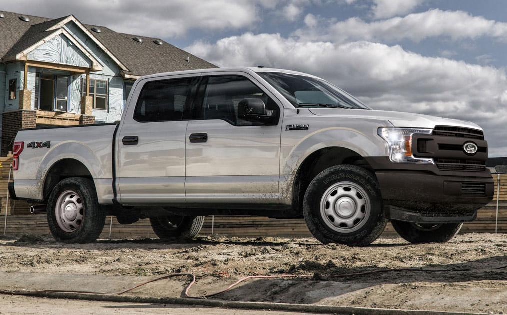 La Ford F-150 es una pick-up que se adapta bastante bien a los espacios de trabajo
