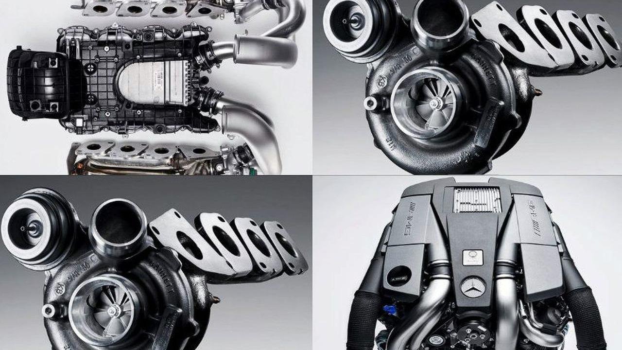 Twin turbo y biturbo: Mercedes-AMG Biturbo