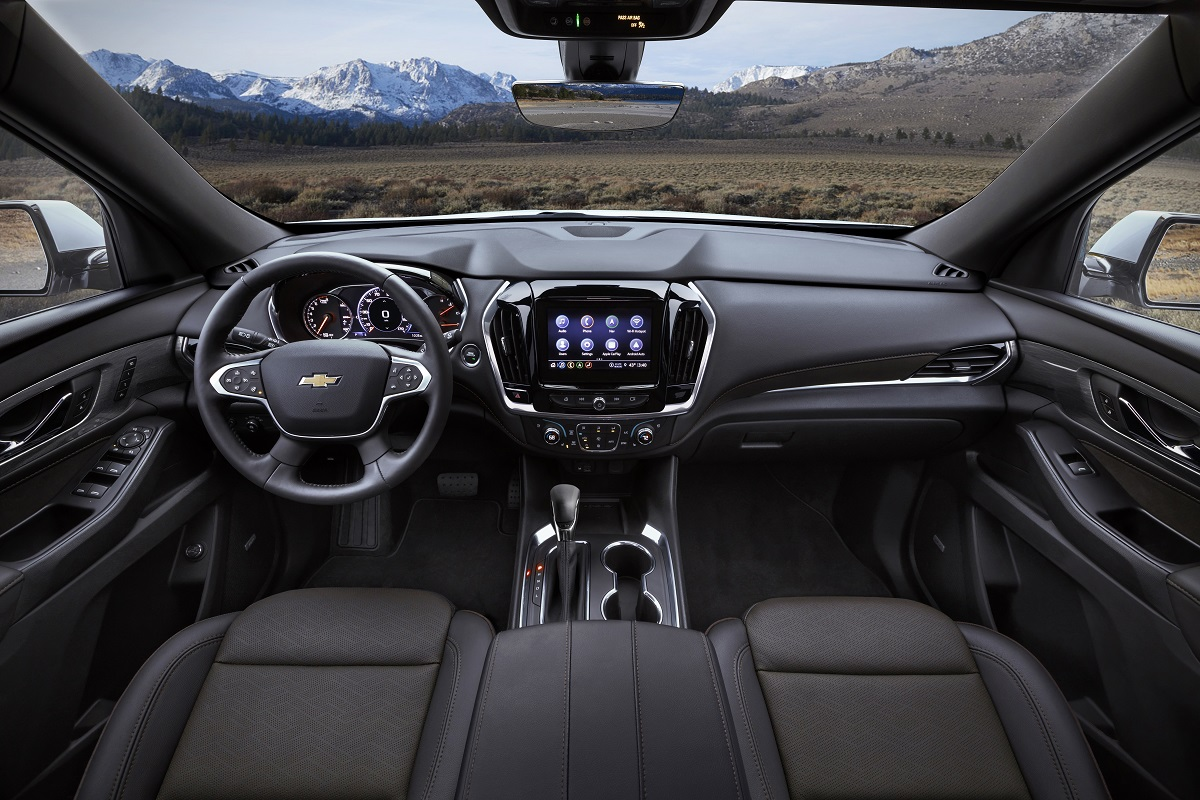 Chevrolet Traverse 2021 interior