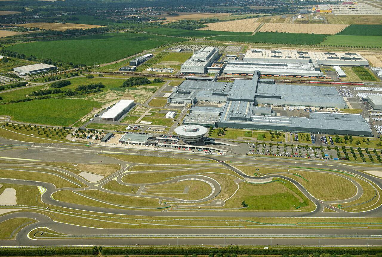 Porsche planta Leipzig