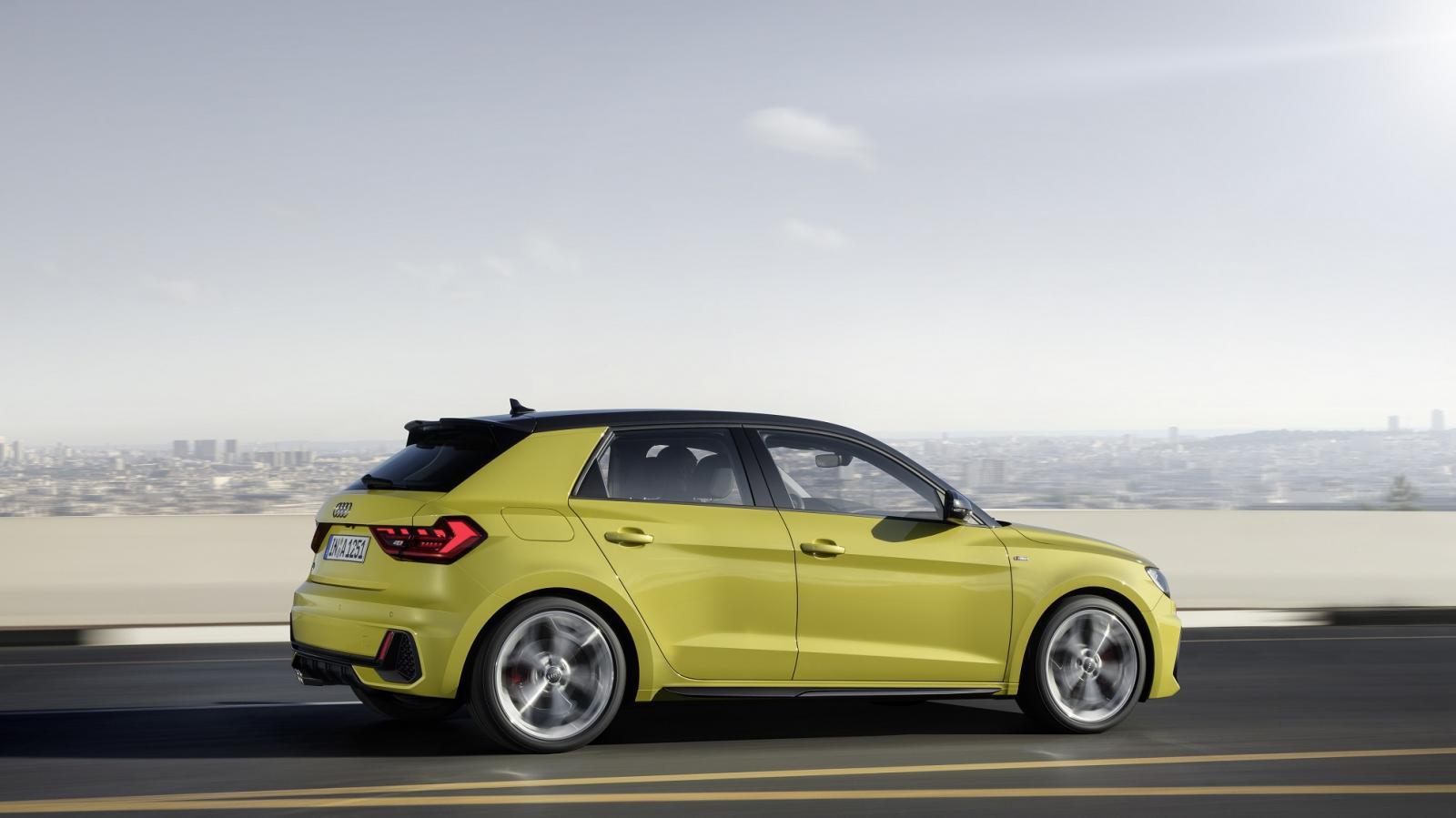 El Audi A1 tiene un motor turbo