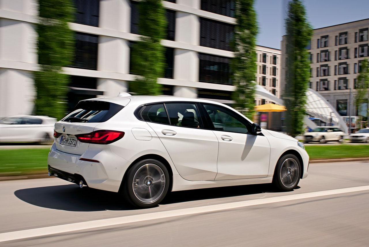 El BMW Serie 1 tiene un motor tres cilindros