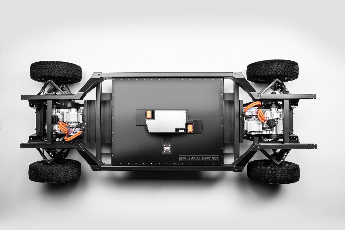 Bollinger plataforma E-Chassis