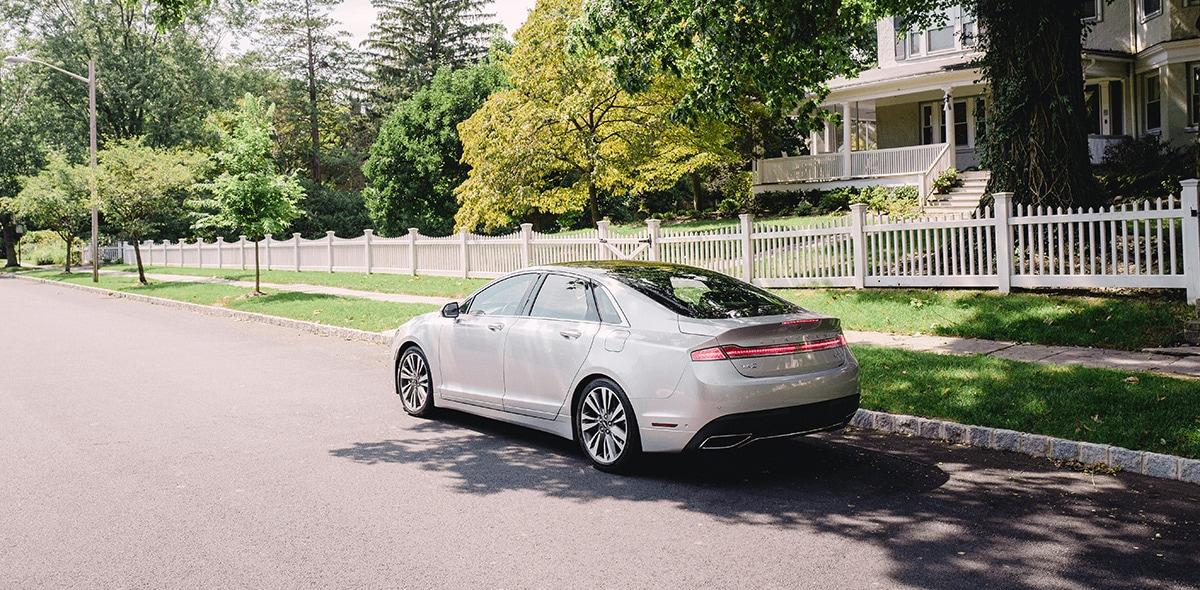 Lincoln MKZ Reserve 2020 resena opiniones Porta rines de aluminio pintado de 19 pulgadas