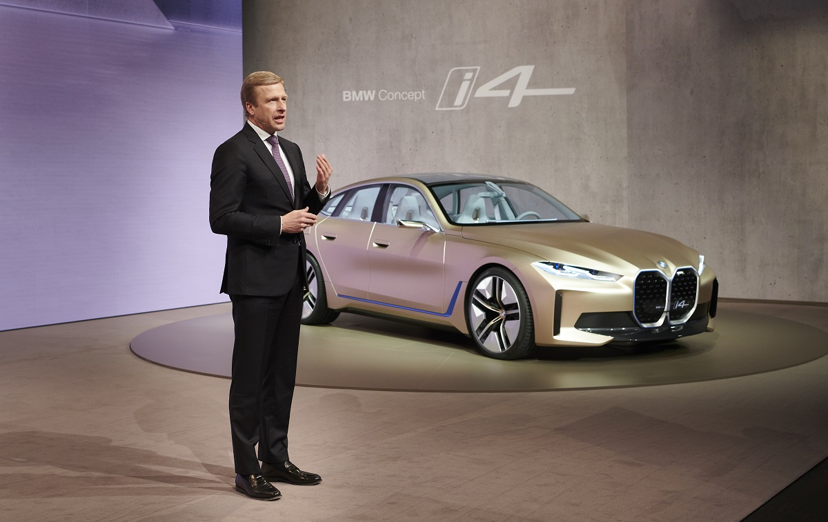 Oliver Zipse, presidente de BMW