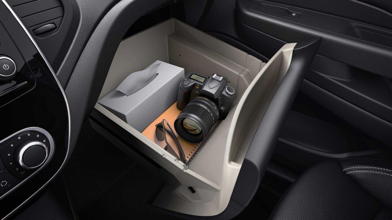 Entre sus virtudes Renault Captur Bose 2020 resena opiniones están los múltiples compartimentos en cabina