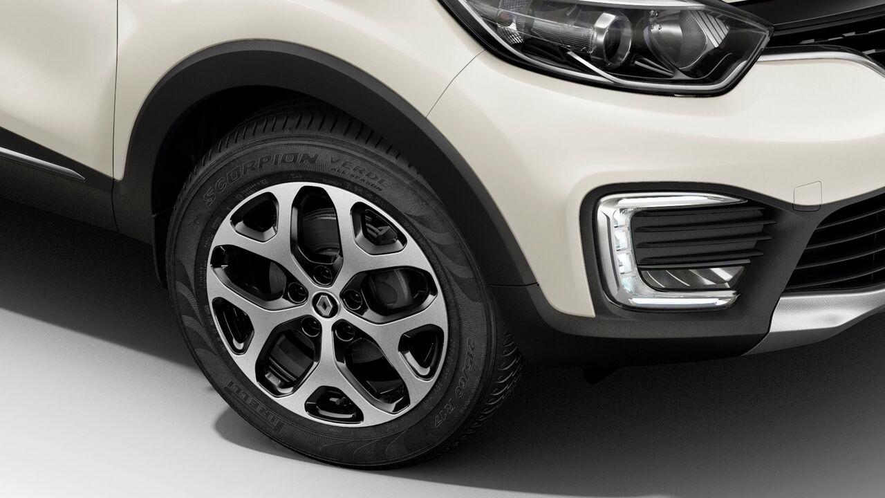 Renault Captur Bose 2020 resena opiniones Lleva unos atractivos rines de aluminio bitono de 17 pulgadas