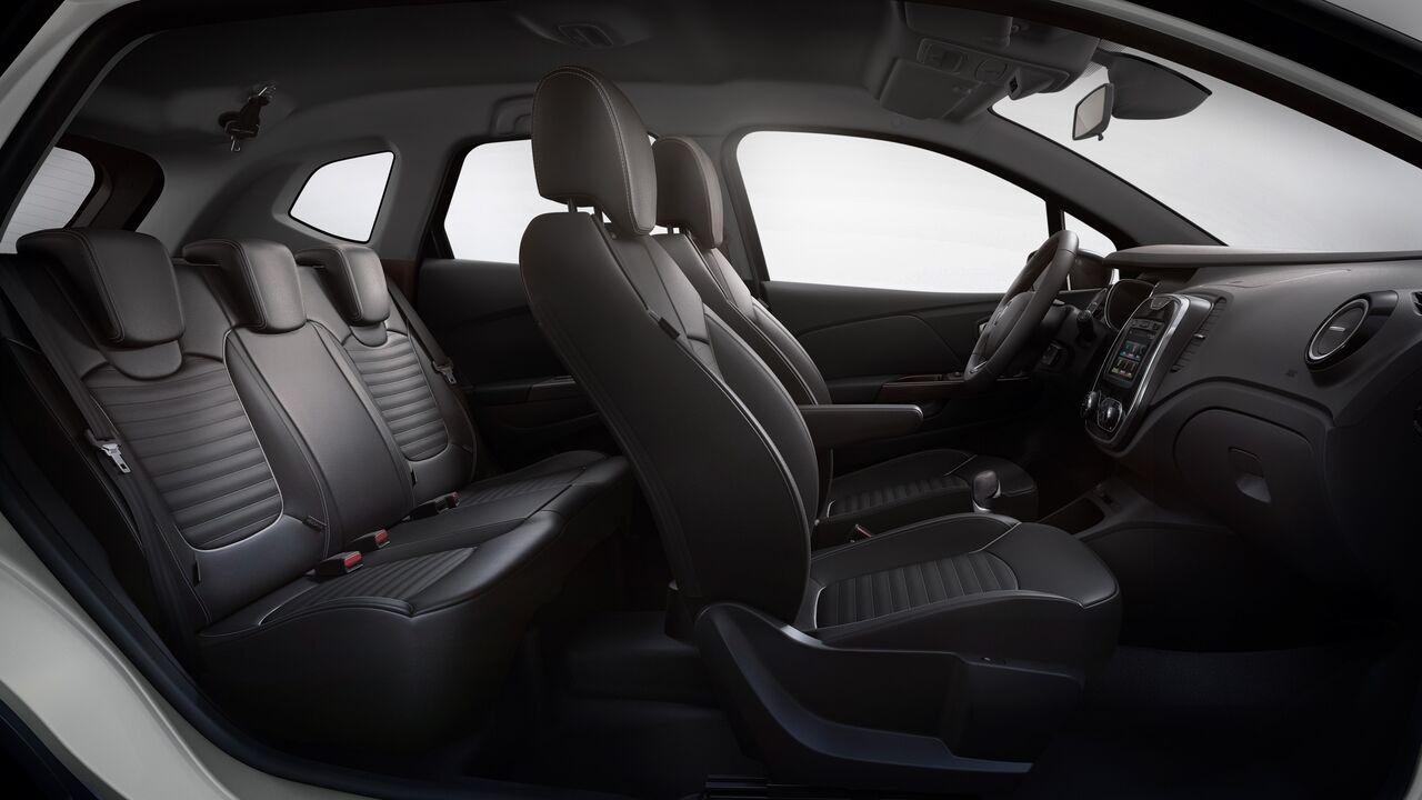 Los asientos Renault Captur Bose 2020 resena opiniones están forrados de piel