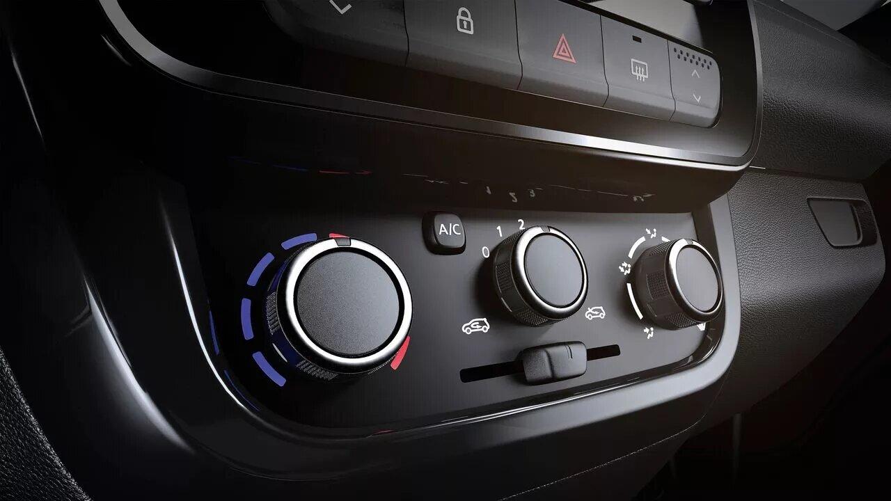 La Renault Kwid tiene aire acondicionado manual