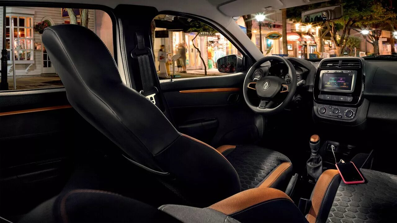 La Renault Kwid tiene un buen espacio en la cabina