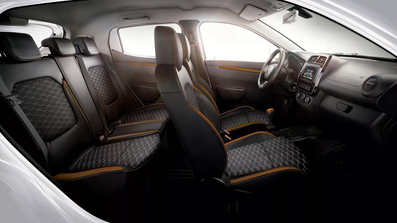 La Renault Kwid tiene un interior cómodo
