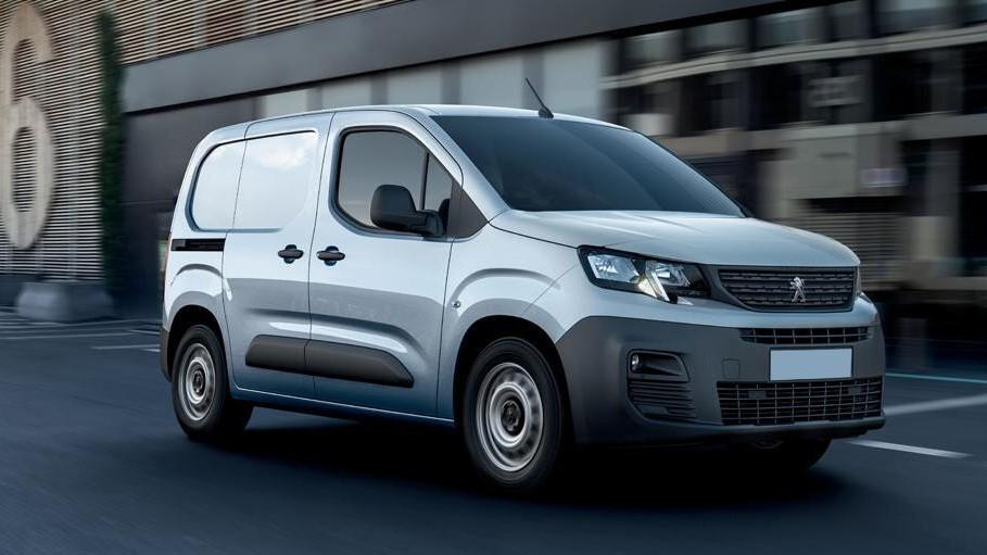 La Peugeot Partner ofrece una gran capacidad de carga