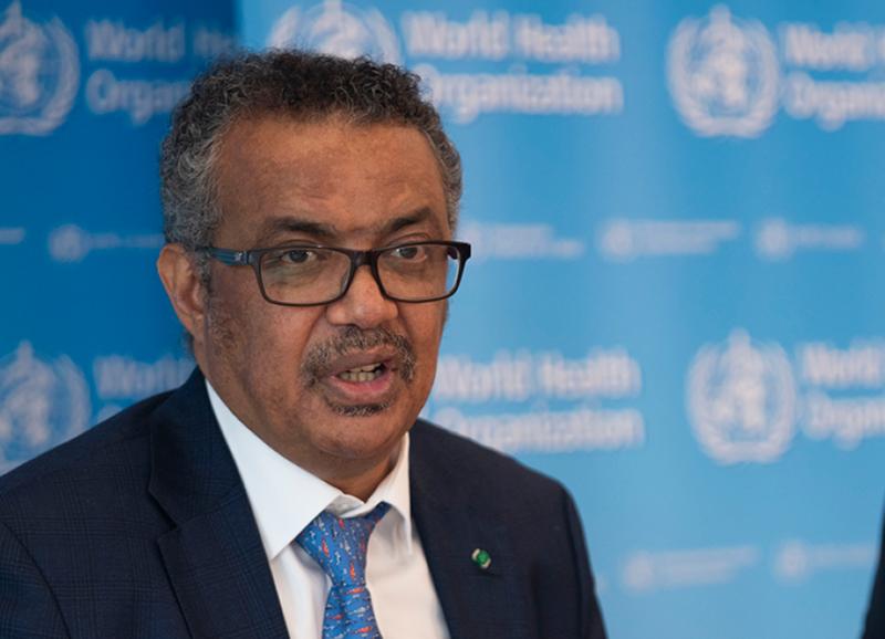 Tedros Adhanom Ghebreyesus, Director de la Organización Mundial de la Salud