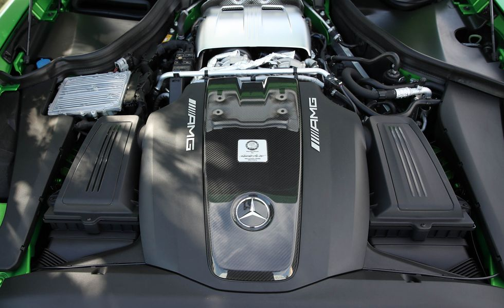 Motor del AMG GT R