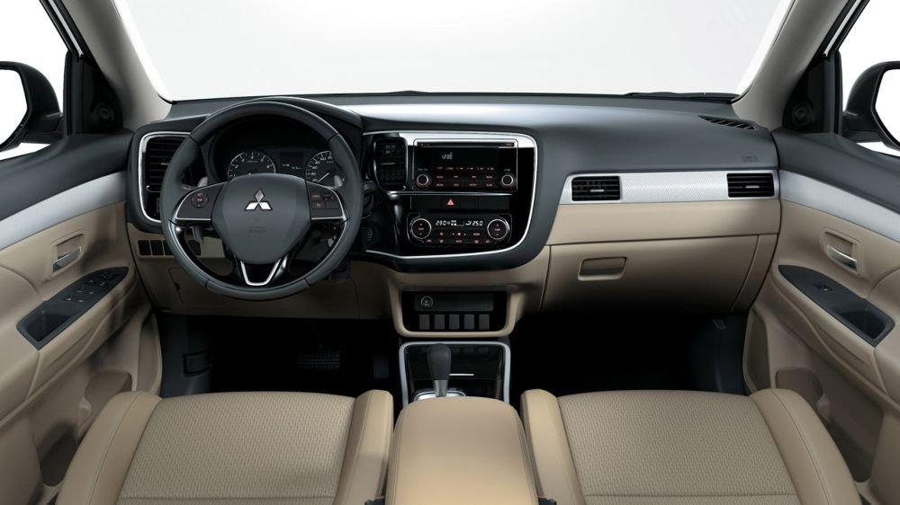 Tablero de la Mitsubishi Outlander 2019