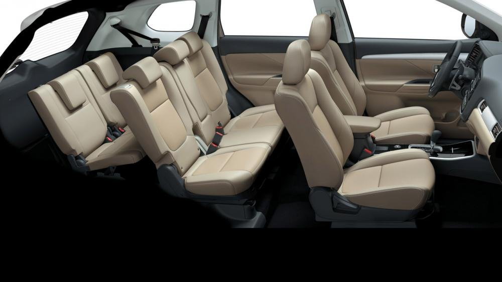 Interior del Mitsubishi Outlander 2019