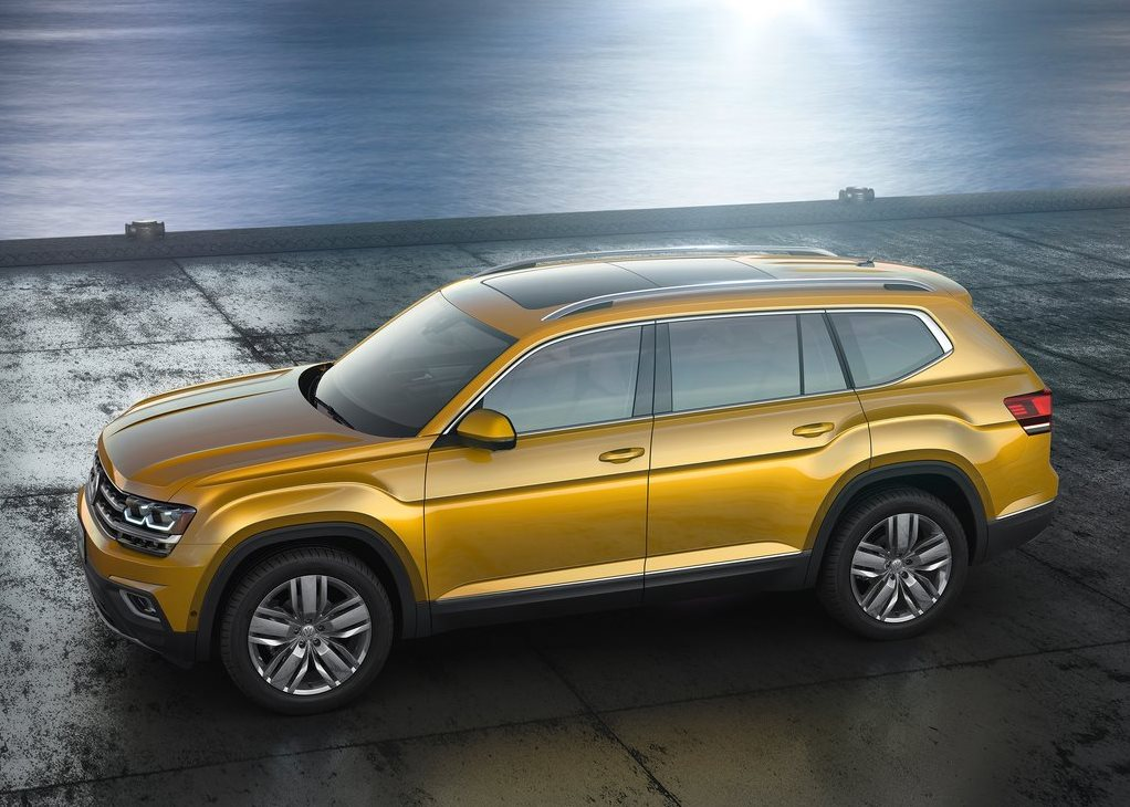 Techo panoramico de la SUV Teramont Highline 2019