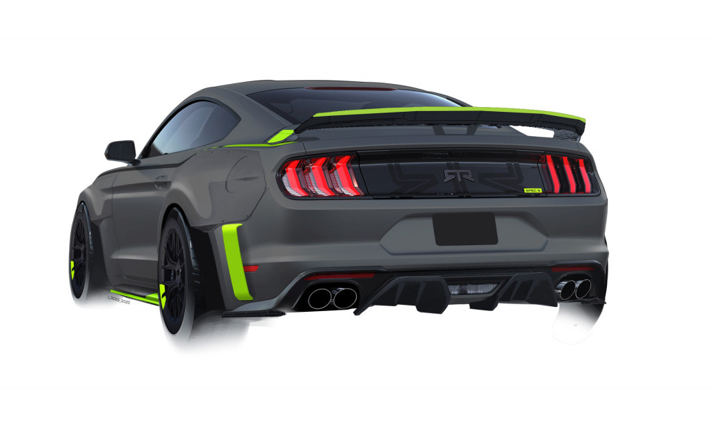 RTR Mustang Spec 5 by LFP