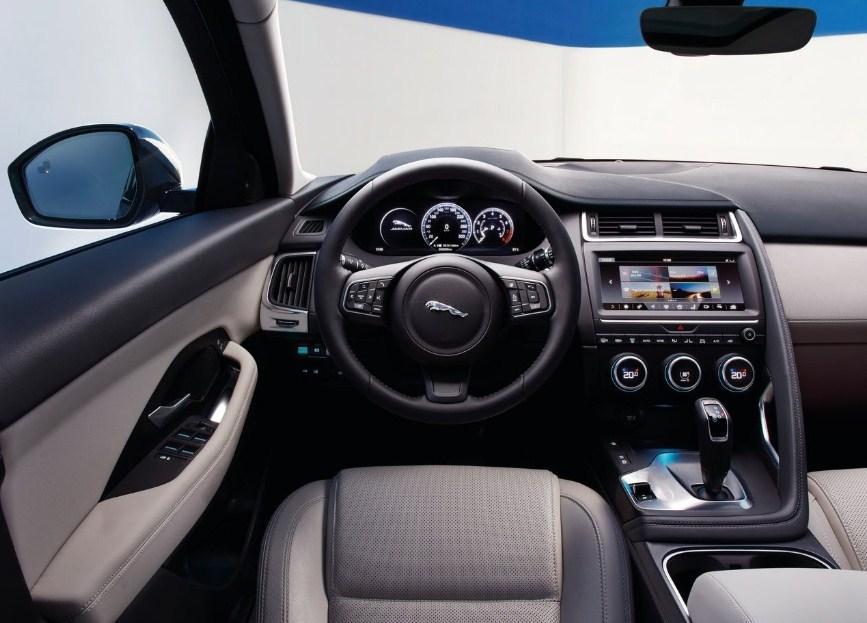 Jaguar E-Pace 2020 - Un interior intuitivo