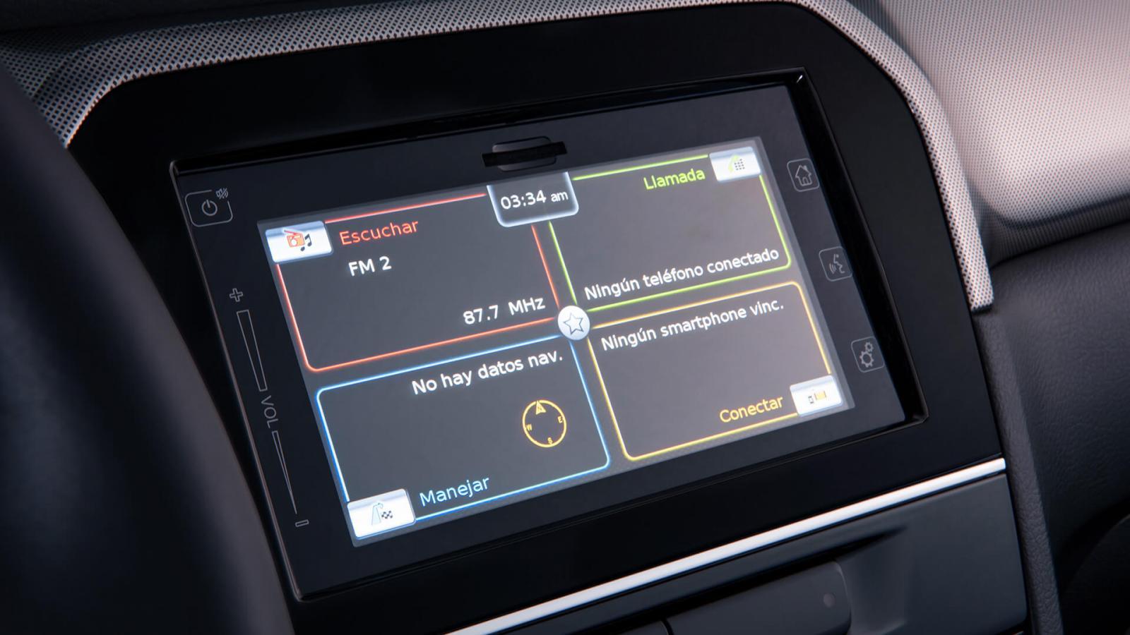 Suzuki Vitara Boosterjet All Grip 2020 resena opiniones Es compatible con los estándares Apple CarPlay y Android Auto