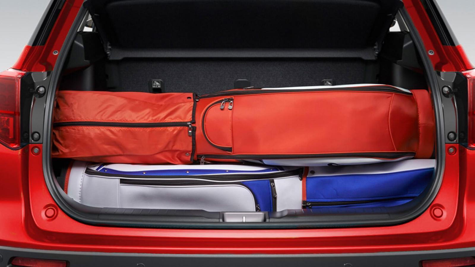 Suzuki Vitara Boosterjet All Grip 2020 resena opiniones Ofrece una capacidad de carga de 710 litros en la cajuela con asientos traseros abatidos