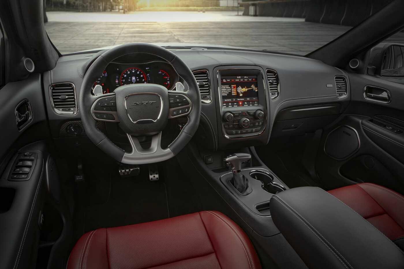 La Dodge Durango tiene buen espacio interior