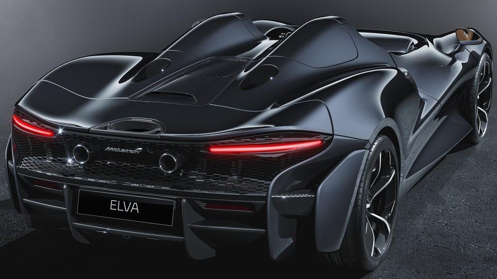 El McLaren Elva fue presentado en noviembre de 2019