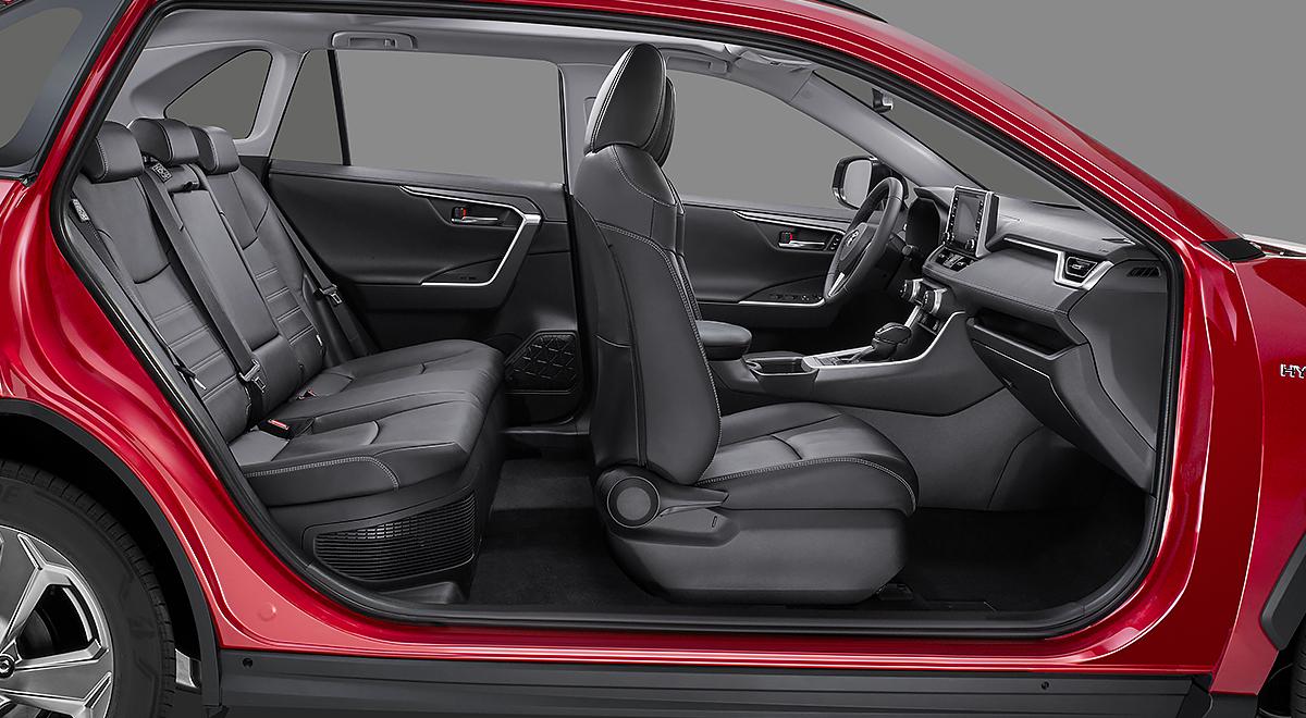 Toyota RAV4 Hybrid 2020 resena opiniones obtuvo máxima calificación de seguridad en las pruebas de la NHTSA