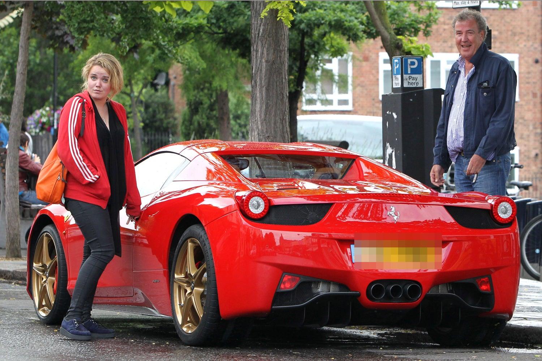 Jeremy y Emily Clarkson