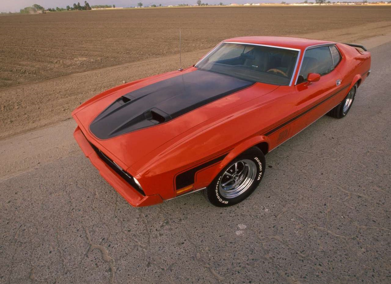 Ford Mustang Mach 1 1972