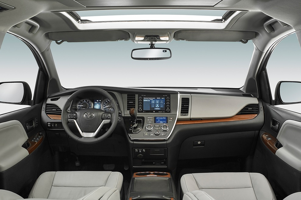 Toyota Sienna Ltd 2020 Kia Sedona SXL 2020 comparativa