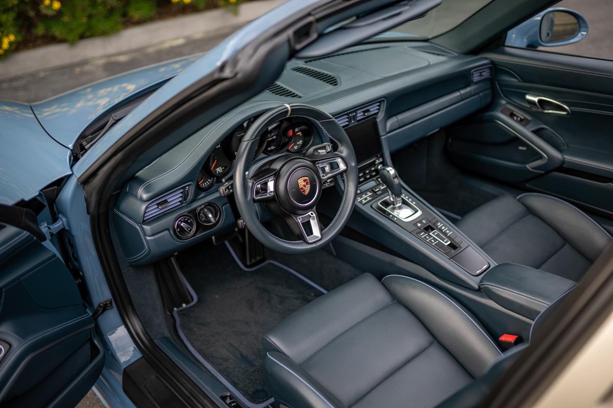 Porsche 911 Targa 4S Exclusive Design Edition 2017