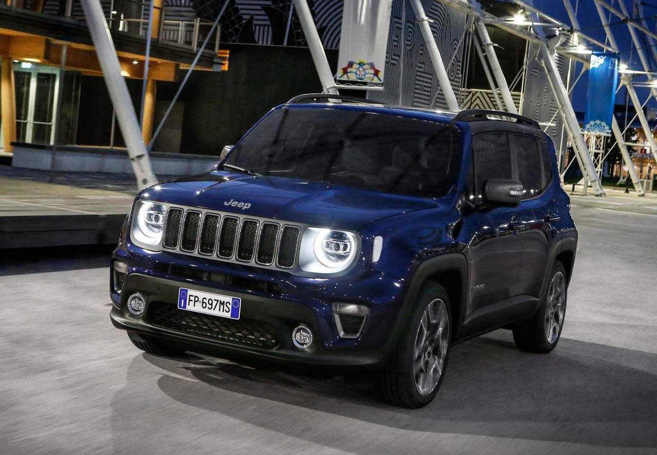 La Jeep Renegade Limited 2020 resena opiniones tiene una figura cuadrada muy característica