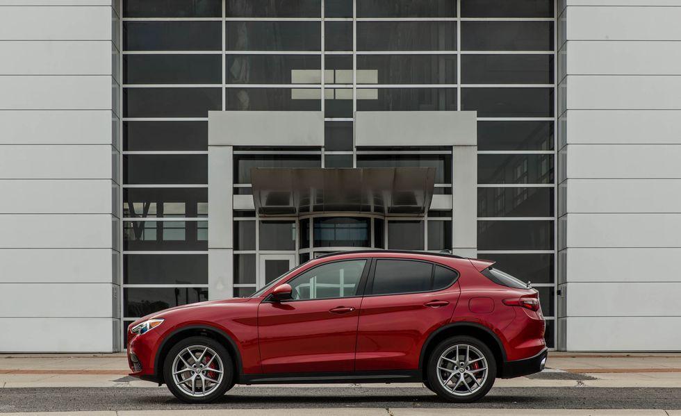 Perfil de la Alfa Romeo Stelvio 2019