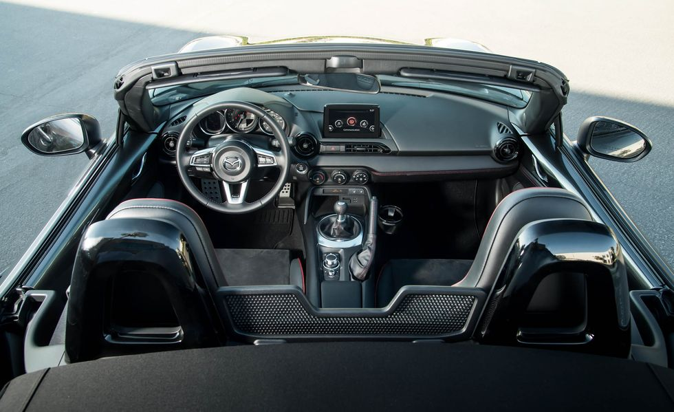 Interior del Mazda MX-5 2019