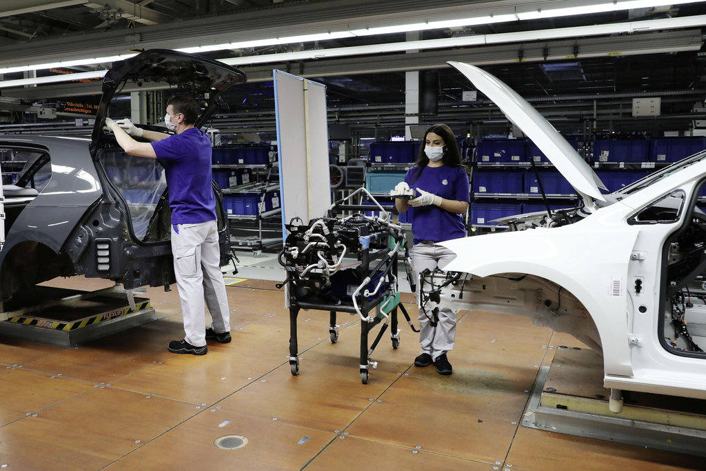 Volkswagen planta de producción