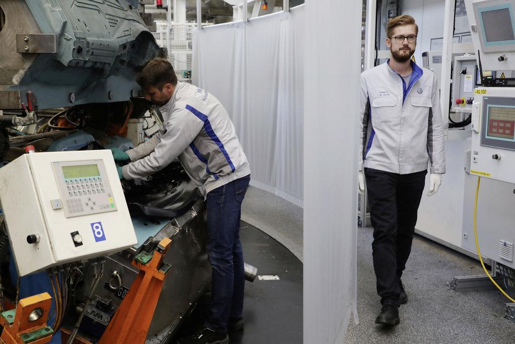 Volkswagen producción de autos
