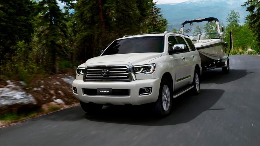 La tecnología de iluminación Toyota Sequoia Platinum 2020 resena opiniones utilizada por esta camioneta es LED